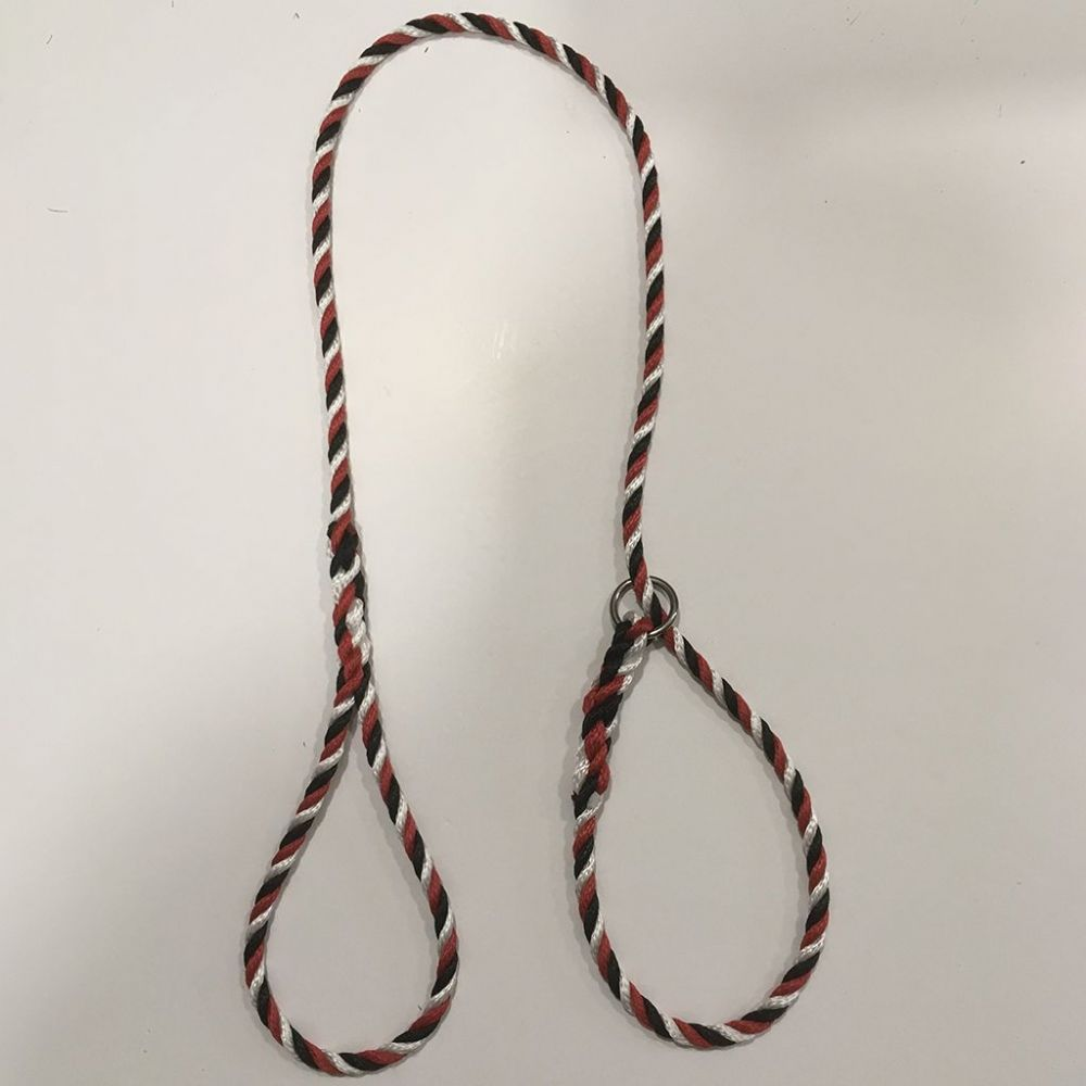 Red, Black, White Tri colour Slip Lead